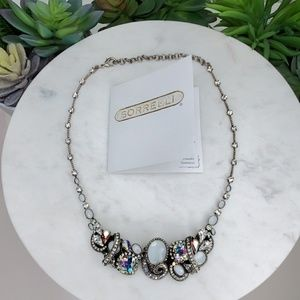NEW Sorrelli AB/Clear/White Necklace